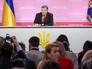 Пресс-конференция президента Украины Петра Порошенко