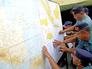 Зона поисковой операции в Индонезии