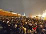 Москвичи и гости столицы встречают Новый год на Красной площади в Москве