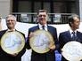 Премьер-министр Литвы Альгирдас Буткявичюс и чиновники ЕС