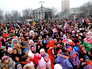 Жители Донецка празднуют Новый год