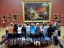 Школьники в Русском музее в Санкт-Петербурге