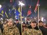 Марш украинских националистов в Киеве