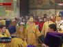 Литургия в Успенском соборе Кремля