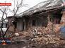 Результат артобстрела жилых кварталов в пригороде Донецка