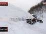 Уборка снега на Камчатке