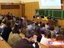 Студенты на лекции в аудитории