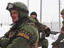 Бойцы народного ополчения ДНР возле донецкого аэропорта
