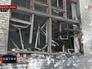 Последствия артобстрела Донецкой области