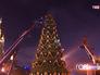 Демонтаж новогодних ёлок