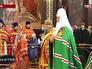 Торжественная литургия в храме Христа Спасителя