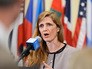 Постоянный представитель США при ООН Саманта Пауэр