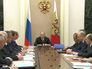 Президент России Владимир Путин провёл заседание в Кремле