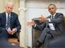 Президент США Барак Обама и вице-президент США Джо Байден
