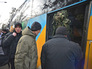 Призывники в украинскую армию на одном из призывных пунктов