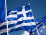 Флаги Греции и Евросоюза
