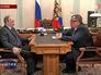 Владимир Путин и глава ВТБ Андрей Костин
