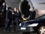 "Канцлер ФРГ Ангела Меркель во время встречи в аэропорту ""Внуково-2"""