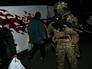 Украинский военный во время обмена пленными между ополченцами ДНР и украинскими силовиками