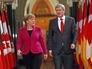 Канцлер Германии Ангела Меркель и премьер-министр Канады Стивен Харпер