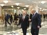 Президент России Владимир Путин и президент Белорусии Александр Лукашенко