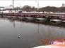 Понтонный мост в Коломне