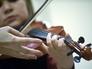 Во время урока в детской музыкальной школе имени Гнесиных