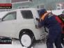 Снегопад и метель на Камчатке