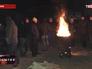 Протестующие на трассе Киев - Чоп