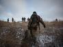 Ополченцы ДНР на боевых позициях