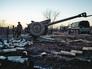 Артиллерия народного ополчения ДНР в Донецкой области
