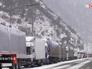Дорожный затор в Северной Осетии из-за непогоды