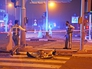 Полиция Дубая оцепляет территорию возле горящего небоскреба