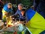 Траурные мероприятия по погибшим на Майдане в Киеве