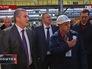 Глава Республики Крым Сергей Аксенов на Керченском судостроительном заводе
