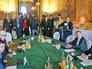 Главы МИД РФ Сергей Лавров, Германии Франк-Вальтер Штайнмайер, Украины Павел Климкин и Франции Лоран Фабиус