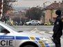 """Полиция на месте расстрела посетителей кафе """"Дружба"""" в Чехии"""