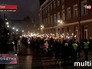 Эстонские радикалы отмечают День независимости