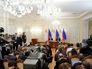Кресс-конференция президента России Владимира Путина и президента Республики Кипр Никоса Анастасиадиса