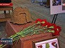 Передача родным останков погибшего красноармейца