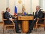 Владимир Путин провёл рабочую встречу с мэром Москвы Сергеем Собяниным