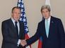 Глава МИД Сергей Лавров с Госсекретарем США Джоном Керри
