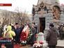 Возложение венков к памятнику русским гренадёрам, павшим в битве под Плевной