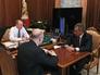 Президент России Владимир Путин, министр финансов РФ Антон Силуанов и министр обороны РФ Сергей Шойгу