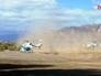 Вертолёты с французскими гражданами в Аргентине до столкновения