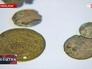 Найденные в Крыму старинные монеты