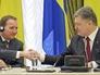 Премьер-министр Швеции Стефан Левен и президент Украины Пётр Порошенко