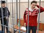 Украинская летчица Надежда Савченко в суде