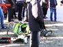Детская коляска на месте ДТП