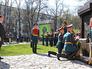 Дмитрий Медведев на церемонии открытия памятника маршалу Рокоссовскому